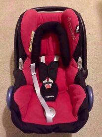 Baby Car Seat Maxi Cosi Cabriofix Red