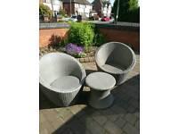 BARGAIN brand new rattan egg chair patio set, must go