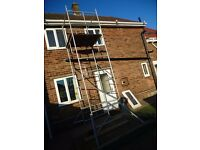 scaffold tower 4ft square x 5 metres high working height 3.5 metres