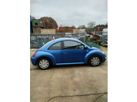 Volkswagen Beetle 2.0 petrol saloon car. MOT. Air conditioning.