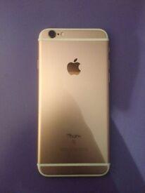 Unlocked iPhone 6S Rose Gold.