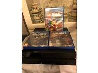 PS4 PLUS 3 GAMES AND 1 CONTROLLER