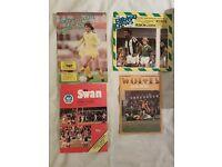 Leeds United Football Programmes - Away + Home 1980's & 1990's