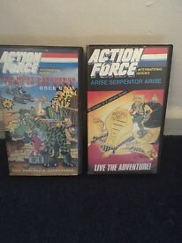 Rare old vhs videos