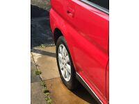 Honda hrv vtec 1.6 4wd 2005 red.