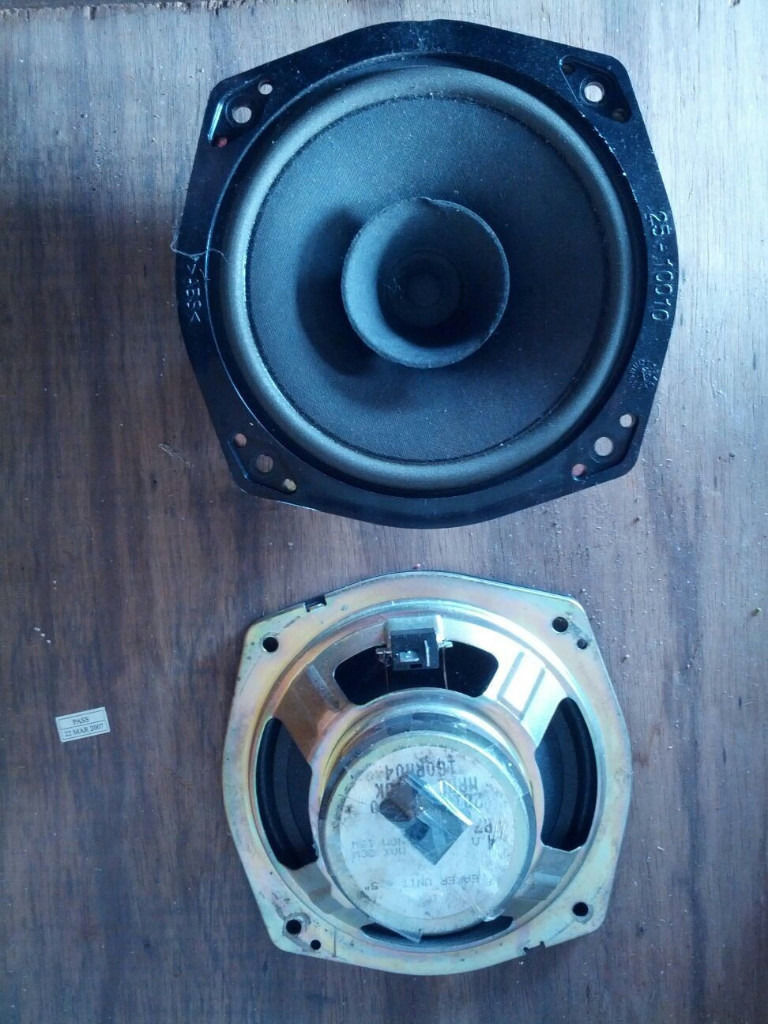 Pair of car speakers