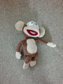 Funny squeeze and fart monkey
