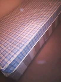 Used double bed + double mattress