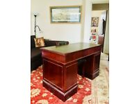 Antique Banker Desk - Completely Functional - Rush sale!