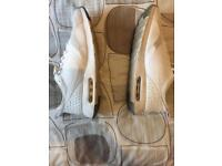 Nike tavas white trainers for sale uk size 10