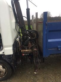 Canter lorry hiab