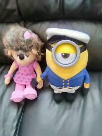 Penny teddy and minion