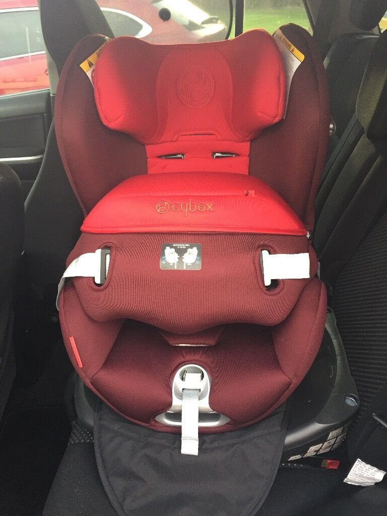 cybex sirona baby car seat group 0 1 in mars red in newcastle tyne and wear gumtree. Black Bedroom Furniture Sets. Home Design Ideas