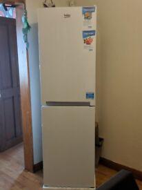 Beko White Freestanding Combi fridge freezer