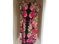 Wallis - pink dress (L)