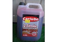 Carlube 2-Stroke Motorcycle Oil XL Red API TC, JASO-FB 4.55L