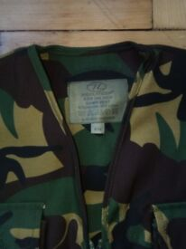 Childs army camo vest