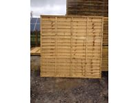 LAWMAC FENCING Manufactures 6 x 5 Overlap Fence Panel WAS £23.00 ON SALE NOW £15.50