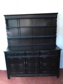 Solid wood priory Welsh dresser