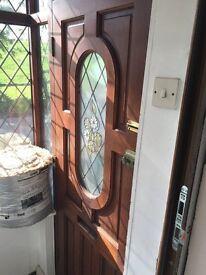 Stain glass Door