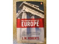 The Penguin History of Europe, J.M. Roberts