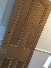 Internal wood doors