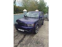 2010 Range Rover sport overfinch.