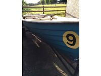 17ft boat and trailer need this gone £400 quick sale