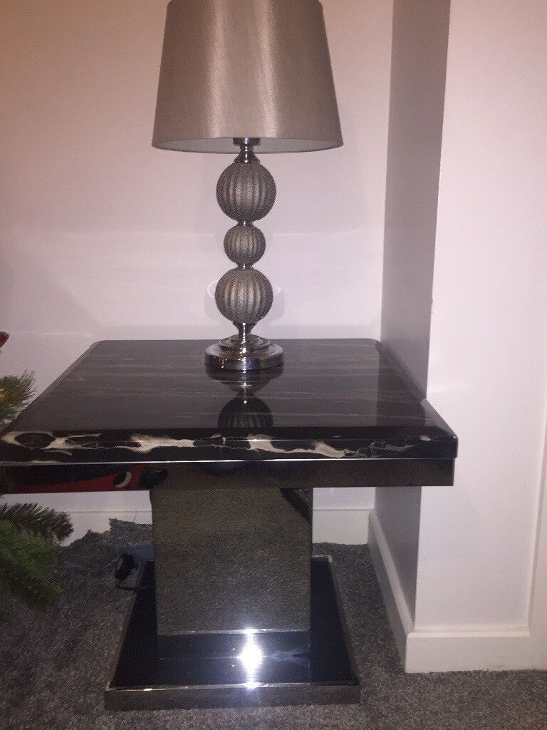 Marble Coffee Table And Lamp Table In Darlington County