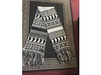 Oversized chunky knit river island scarf