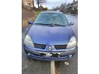 2002 Renault Clio 1.4