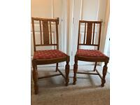 Charming pair of antique chairs
