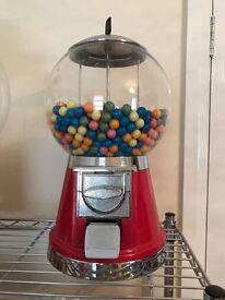 Retro Bubblegum machine fayre charity bubble gum