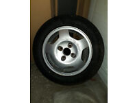 185/65 R15 4x114,3x64 ALLOY WHEEL WITH NEW WINTER TYRE - Honda Rover