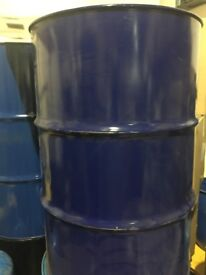 METAL DRUMS FOR STORAGE - USED IN GOOD CONDITION