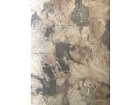 Emulated Stone Tierra Porcelain Tiles x 6 New