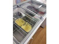 Tefcold 7 pan ice cream freezer