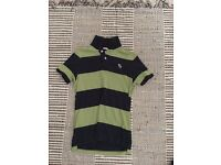 Three Abercrombie Polo Shirts
