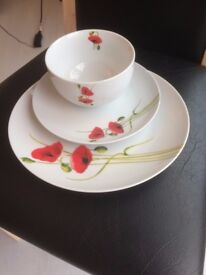 Dinner Service- Poppy Design 7 Setting