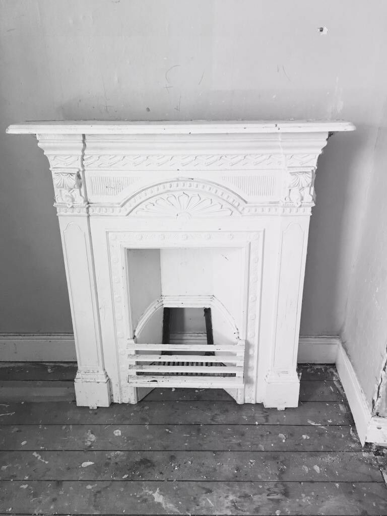 High spec Carron Belgrave cast iron slim profile fire surround,costs £635,quick sale at £165