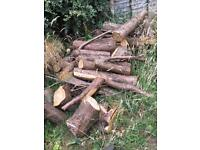 Free logs for collection only