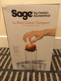 Sage by Heston Blumenthal Nutri Juicer Compact