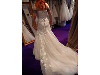 Sophia Tolli Wedding Dress Size 8 -10 (Adjustable) Jillian