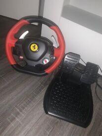 Thrustmaster Ferrari Spider Steering Wheel for Xbox One