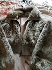 Lady Fur Jacket River island