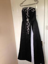 Black and White Bridesmaids dress
