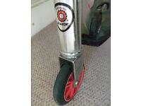 Authentic Razor rift kick scooter - swivel back wheel