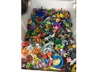 Box of pokemon toys joblot