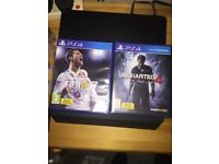 FIFA 18 & UNCHARTED 4 BOTH FOR £25