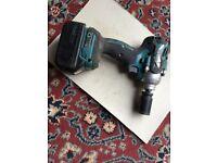 Makita cordless impact wrench BL1830 16V